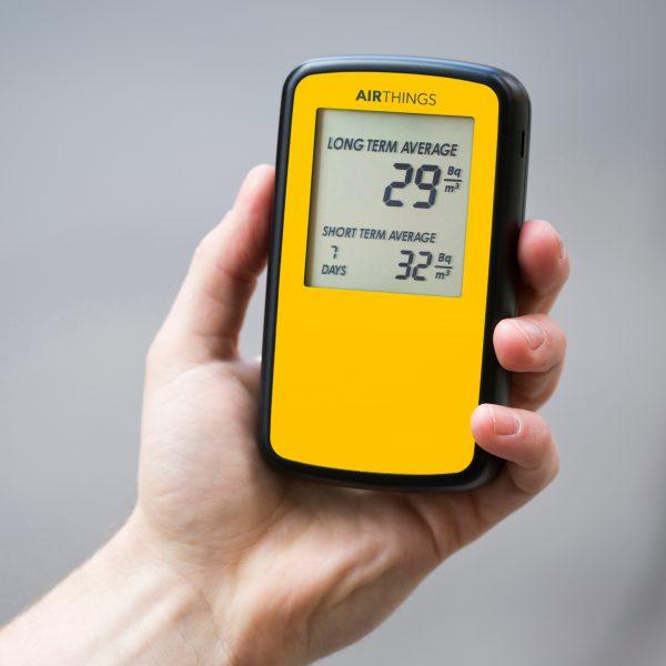 radon detectors monitors measure tests